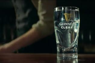 Guinness Clear is the brew brand's completely color-free beverage