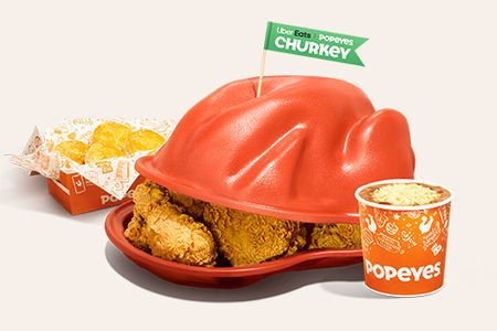 A 'Churkey' is Uber Eats and Popeyes' answer to those who prefer chicken for Thanksgiving