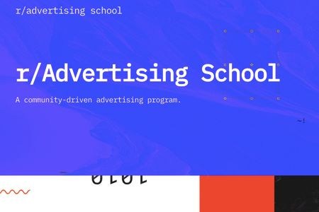 Now you can go to ad school—on Reddit