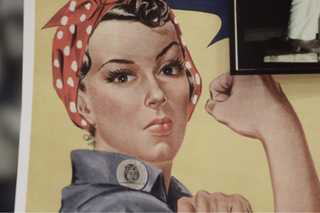 Rosie the Riveter—and her jumpsuit—are reborn in campaign from Cotton Inc. and The Great