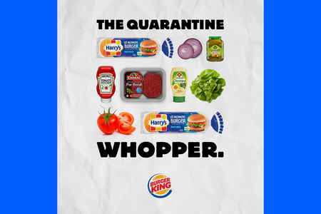 Burger King shows you how to make a DIY Whopper in quarantine