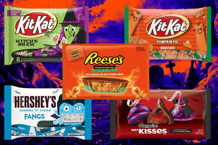 Hershey is ready to talk about Halloween. Yes, it's only July