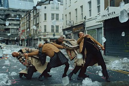 Burberry debuts a mesmerizing, modern take on 'Singin' in the Rain'