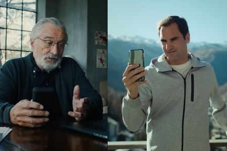 Robert De Niro rejects Roger Federer in Switzerland Tourism campaign