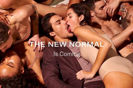 Suitsupply goes for shock value with orgy-themed campaign during pandemic