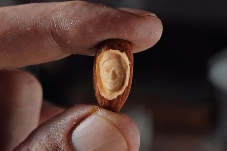 Blue Diamond is offering to carve your face into an almond