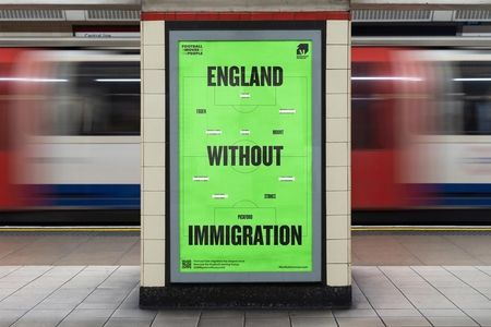 These ads use real-time soccer scores to show impact of immigration