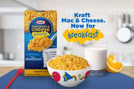 Kraft Mac & Cheese declares itself an acceptable breakfast food