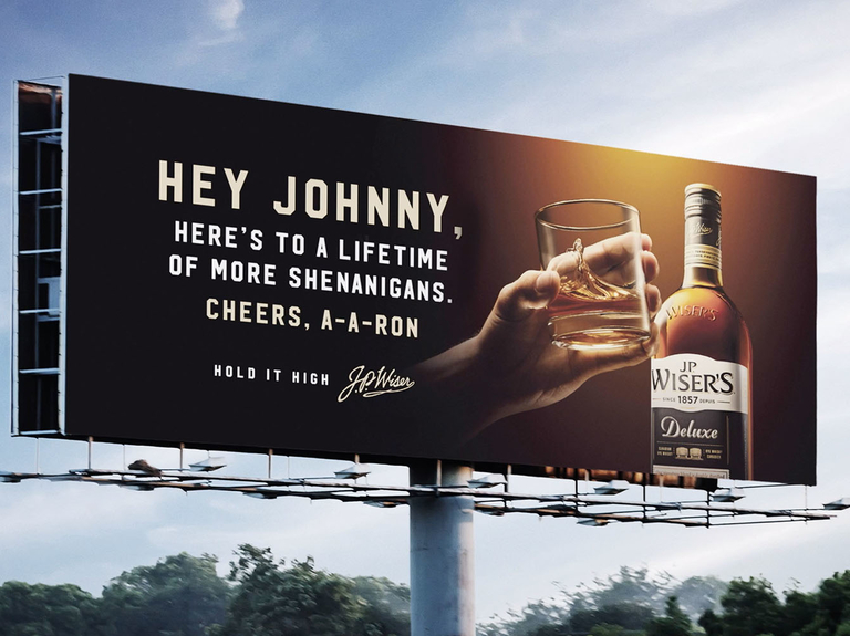 """Small Agency Campaign Of The Year, Digital, Silver: """"The Public Toast,"""" No Fixed Address"""