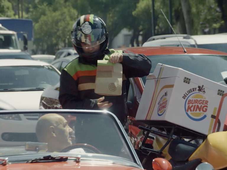"Small Agency Campaign Of The Year, Digital, Gold: ""Burger King Traffic Jam,"" We Believers"