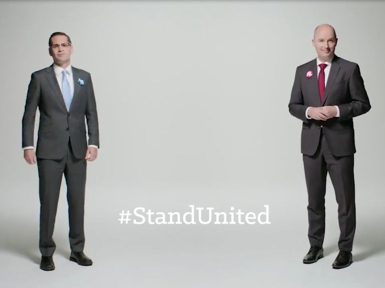 Behind the shockingly respectful ads that put a refreshing spin on politics