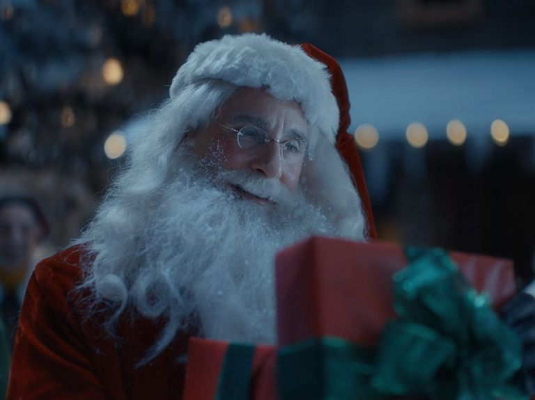 Steve Carell is an overbearing, stress-eating, work-from-home Santa in Xfinity's holiday ad