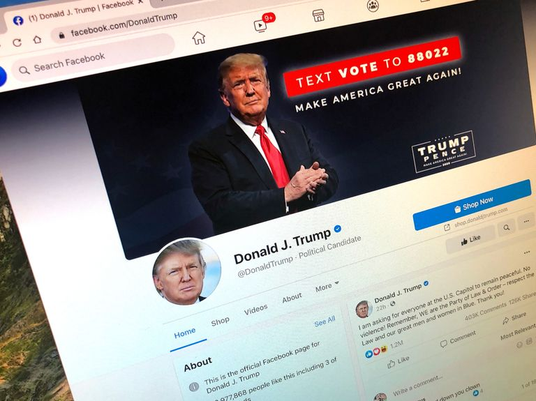 How Facebook, Twitter and YouTube are dealing with the fallout of Trump's chaos