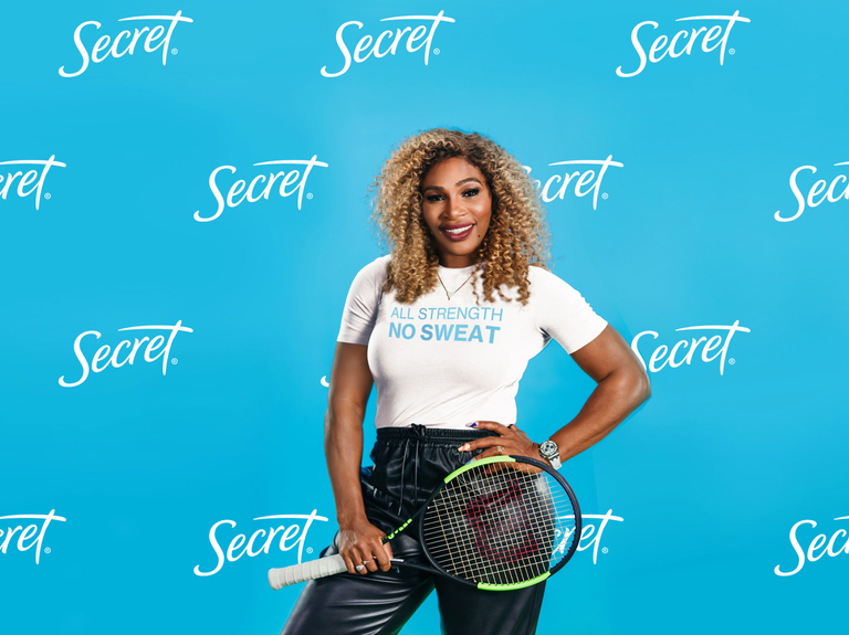 Procter & Gamble's Secret signs Serena Williams for gender-equality campaign