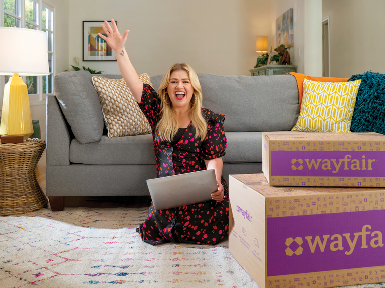 Kelly Clarkson hooks up with Wayfair and Amy Poehler pushes Pure Leaf: Marketer's Brief