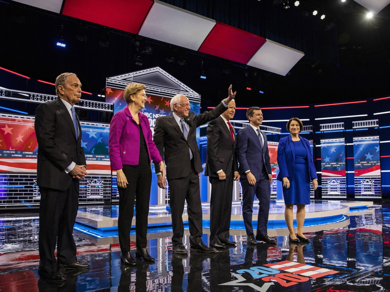 Bloomberg's messy first debate draws record ratings