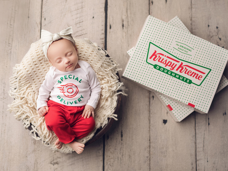 Krispy Kreme promotes delivery with free doughnuts for parents of Leap Day babies