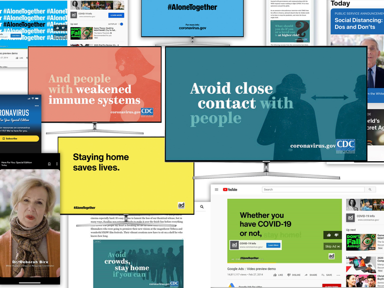 Facebook, Apple, Trade Desk and others team with Ad Council on federal coronavirus PSA