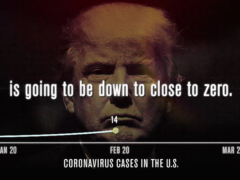 Trump really does not want you to see this ad. Or does he?
