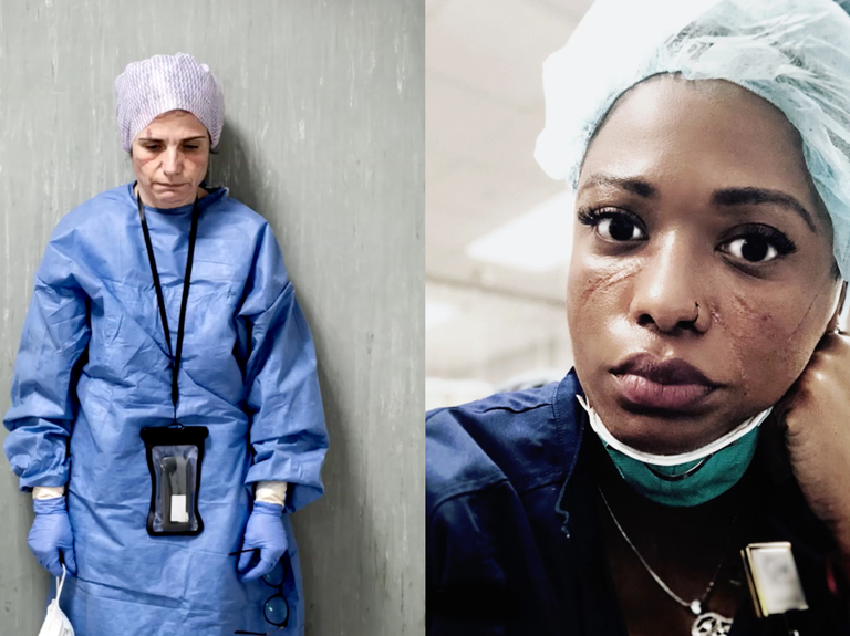 Dove puts new face on 'Real Beauty' in salute to health workers
