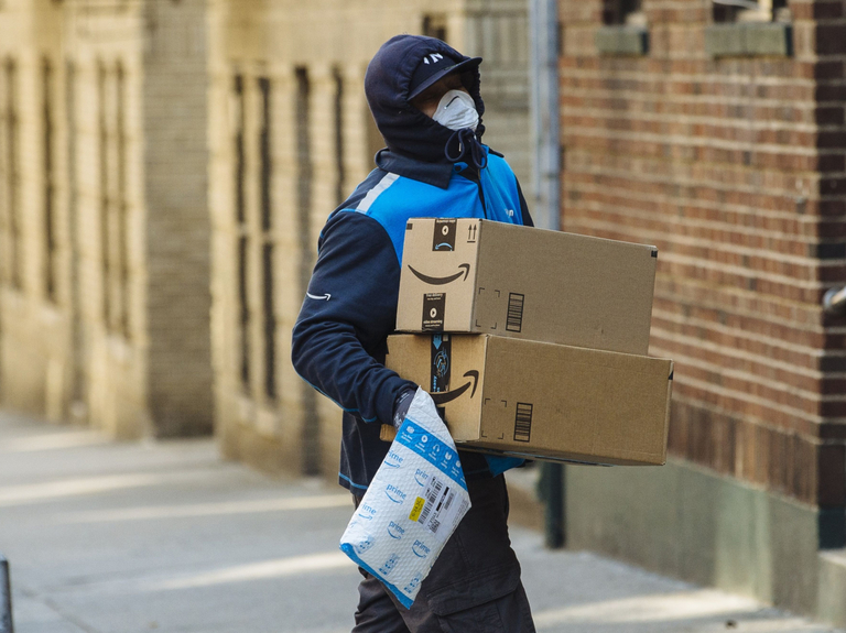 Amazon is building a coronavirus testing lab for its workforce