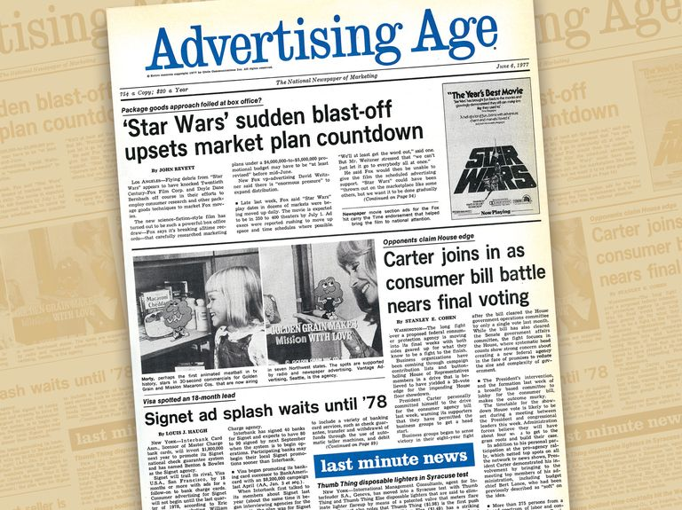 That time the suits wanted George Lucas to change the name of 'Star Wars'