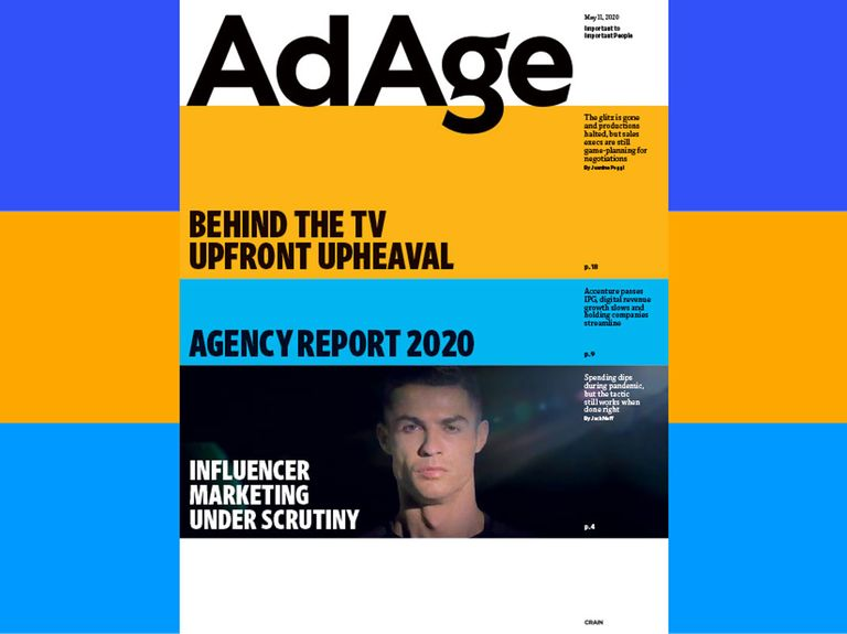 Subscriber Exclusive: May 11, 2020 issue of Ad Age