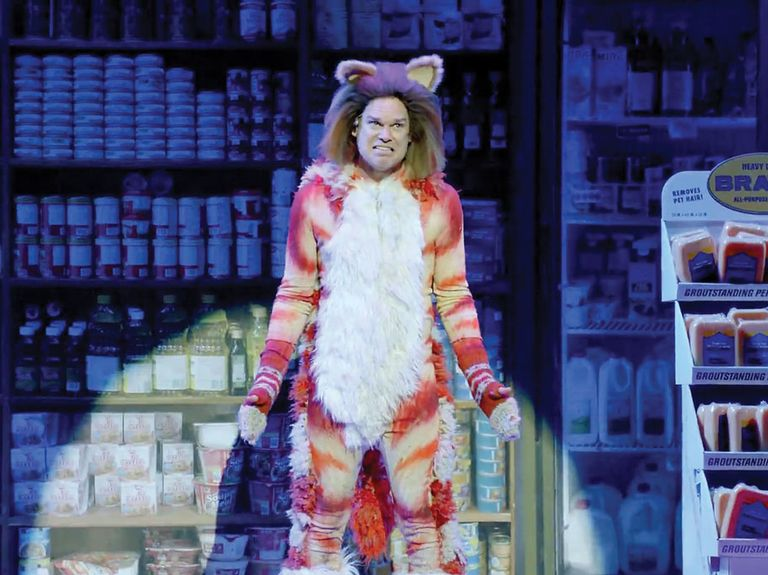 Skittles stole the Super Bowl show with its irreverent Broadway musical