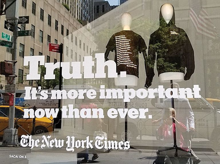 The New York Times' campaign is a creative masterwork that moved business