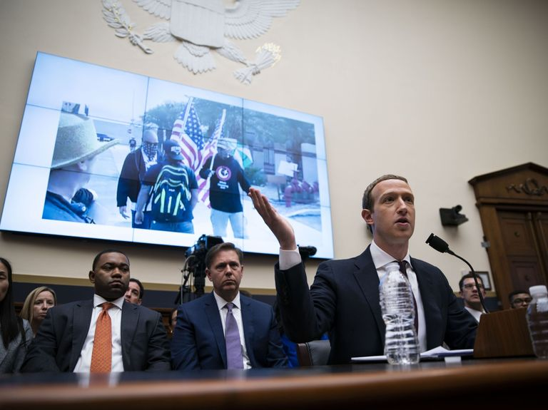 Democratic senators ask Zuckerberg to act on white supremacy