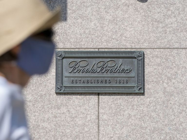Brooks Brothers goes bust with business clothes losing favor