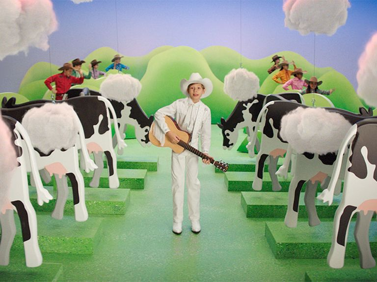Burger King enlists Michel Gondry, the yodeling kid and lemongrass in eco-friendly push to reduce cow farts