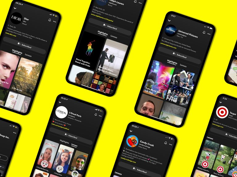 How Snapchat's new Brand Profiles give advertisers a presence that won't just disappear in a day