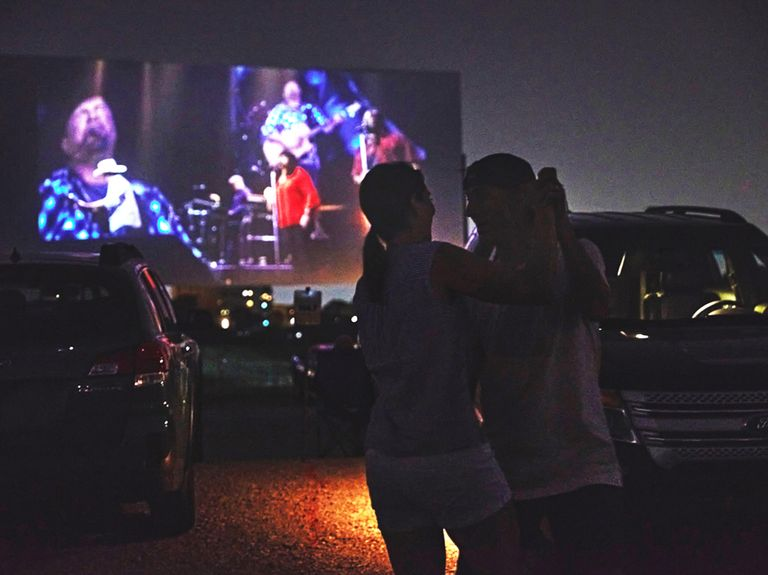 How The Richards Group turned drive-in movie theaters into concert venues (of sorts)