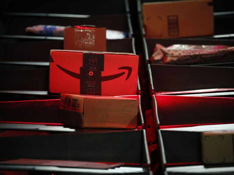 Amazon's reduced marketing and expanded grocery delivery business result in sales surge