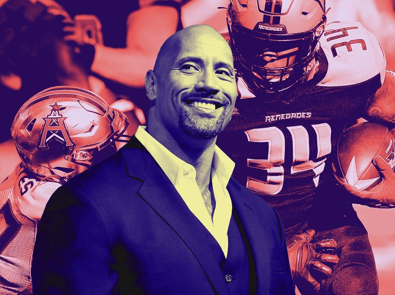 Bankrupt XFL football league bought by group including The Rock