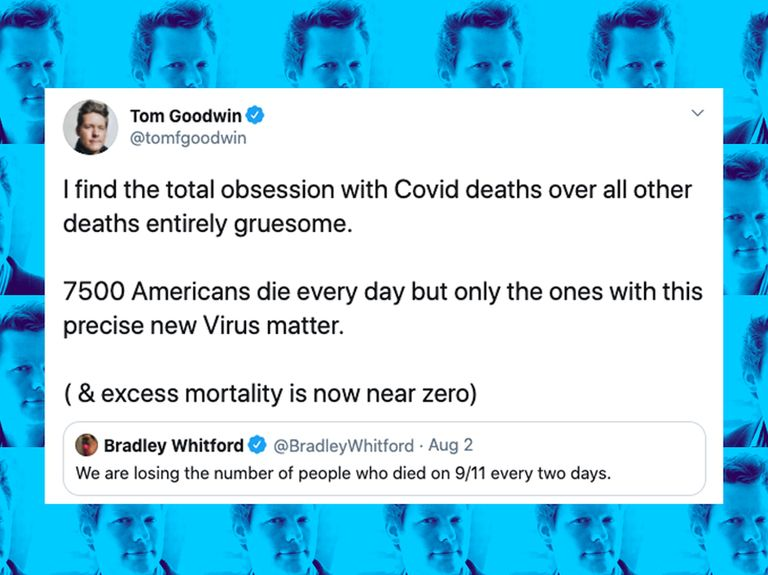 Publicis Groupe exec sparks Twitter backlash after criticizing 'the total obsession with Covid deaths'