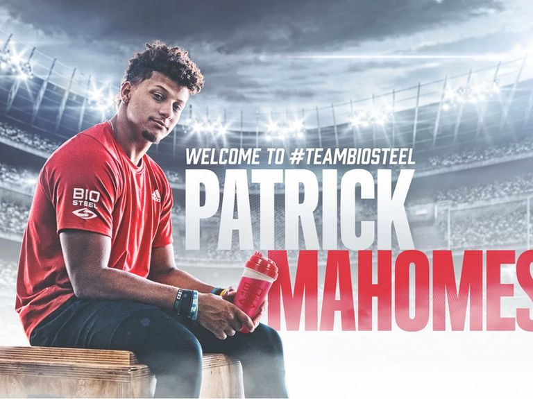 BioSteel Sports Nutrition signs multiyear deal with Patrick Mahomes