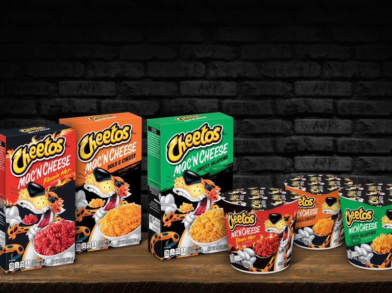 Flamin' Hot Cheetos among wild new mac 'n cheese flavors from PepsiCo