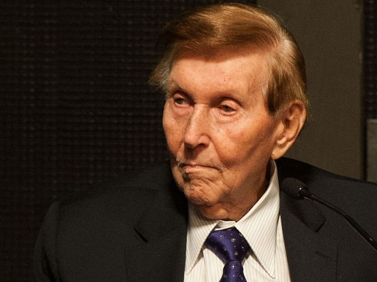 Sumner Redstone, Viacom head who built empire, dies at 97