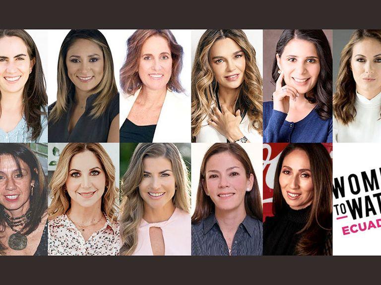 Women to Watch Ecuador class of 2020 announced