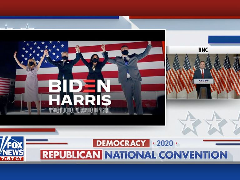 While Trump was wrapping up the RNC, Biden was booking $38 million in TV ads—in one day