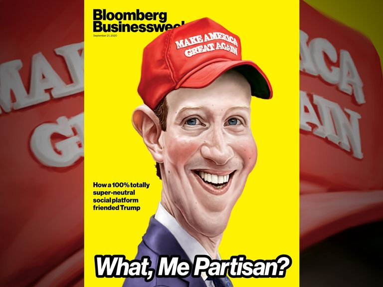 Facebook is basically in the tank for Trump, says Bloomberg Businessweek