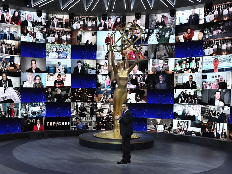 Emmy Awards hit another ratings low for virtual ceremony