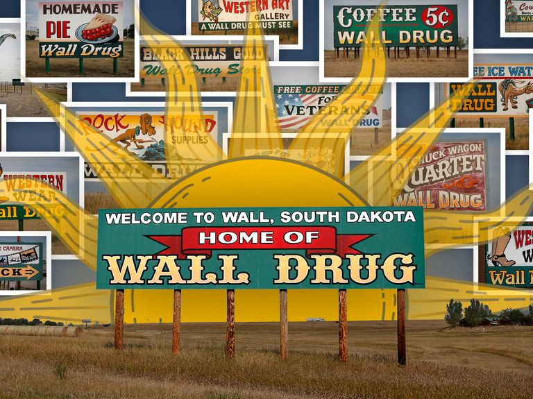 How hand-painted billboard ads turned Wall Drug into a tourist hotspot