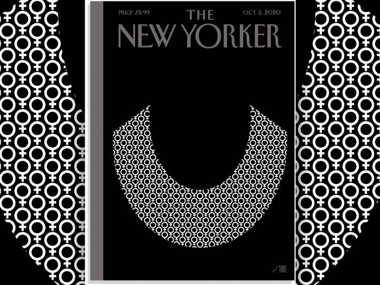 The New Yorker's RBG tribute is hauntingly understated
