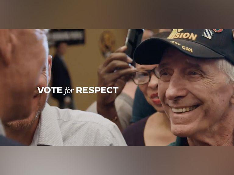 'Vote for Respect': Watch Joe Biden's most positive negative ad yet