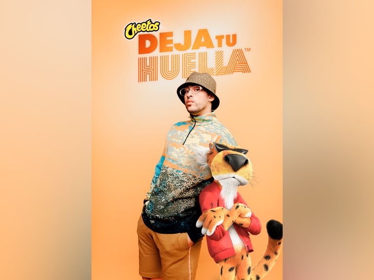 Cheetos enlists Bad Bunny to inspire people to 'deja tu huella,' or 'leave your mark'