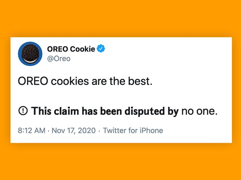 Brands have fun with 'This claim is disputed' Twitter meme