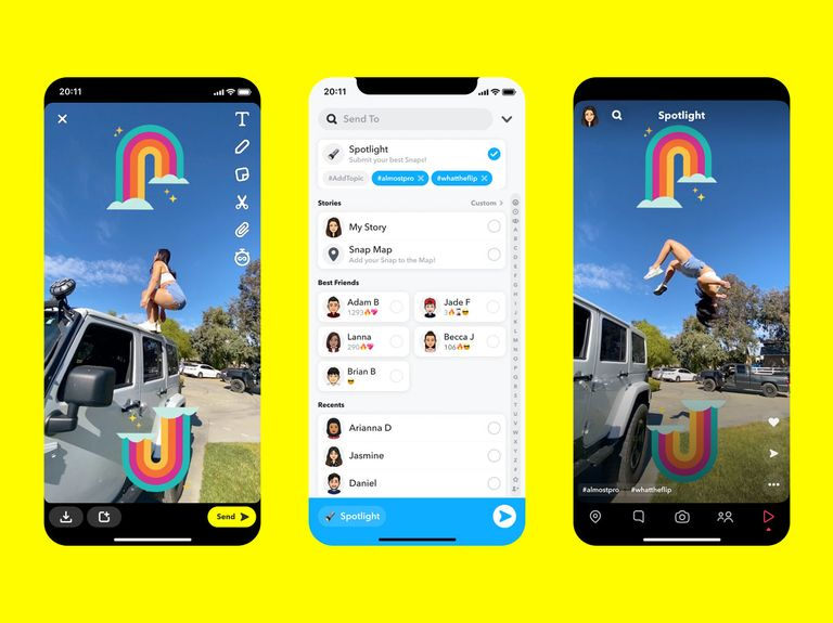 Snapchat rolls out TikTok rival offering that will pay users $1 million a day
